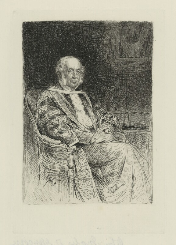 John Inglis, Lord Glencorse, by William Brassey Hole, published 1884 - NPG D36444 - © National Portrait Gallery, London