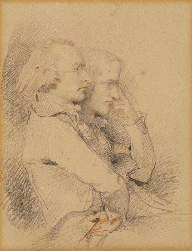 Thomas Holcroft; William Godwin, by Sir Thomas Lawrence, 1794 - NPG 6880 - © National Portrait Gallery, London