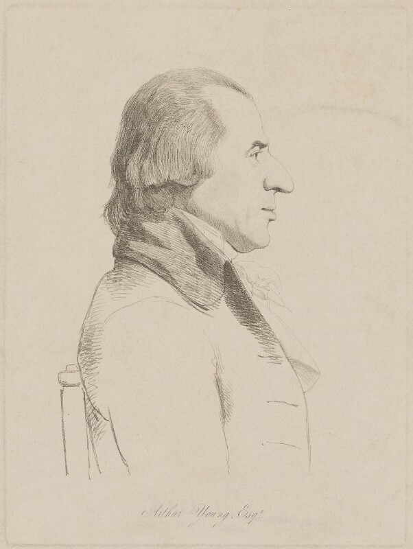 Arthur Young, by William Daniell, after  George Dance, (1794) - NPG D36268 - © National Portrait Gallery, London