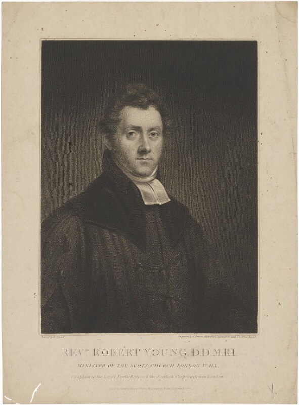 Robert Young, by Edward Scriven, published by  James Forsyth, after  E. Gerard, published 30 May 1812 - NPG D36269 - © National Portrait Gallery, London