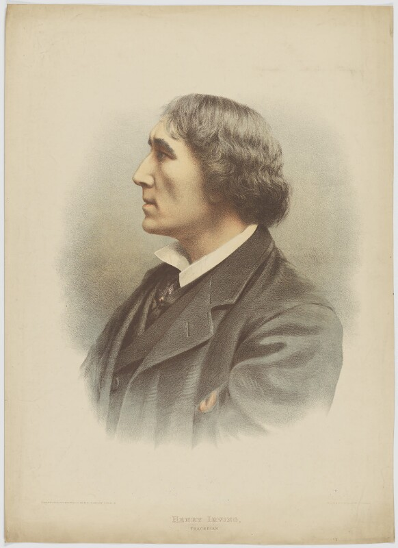 Sir Henry Irving, by Maclure & Macdonald, published by  The Pictorial World, after  Samuel Alexander Walker, published 1883 - NPG D36455 - © National Portrait Gallery, London
