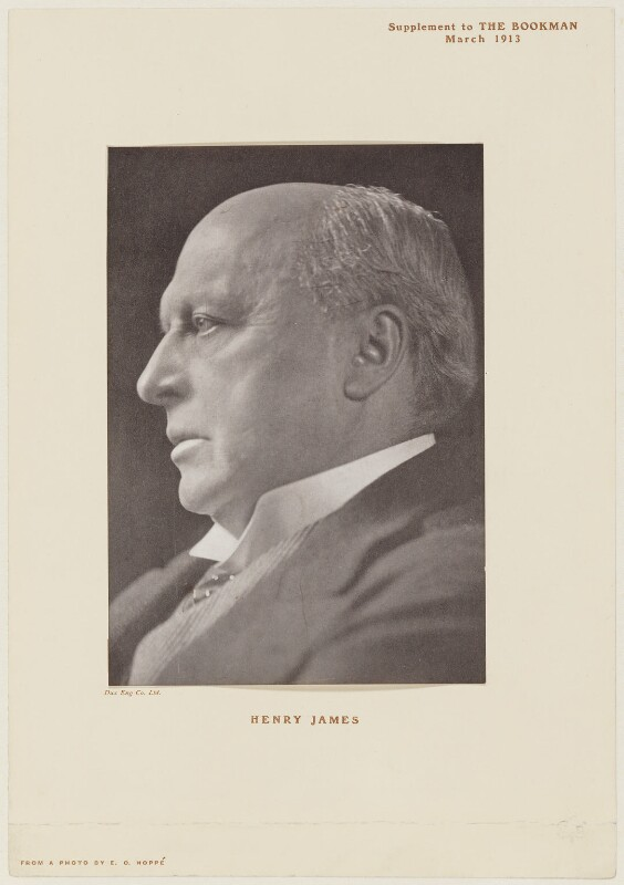 Henry James, by Dux Eng Co Ltd, after  Emil Otto ('E.O.') Hoppé, 1911 (published March 1913) - NPG D36464 - © 2017 E.O. Hoppé Estate Collection / Curatorial Assistance Inc.