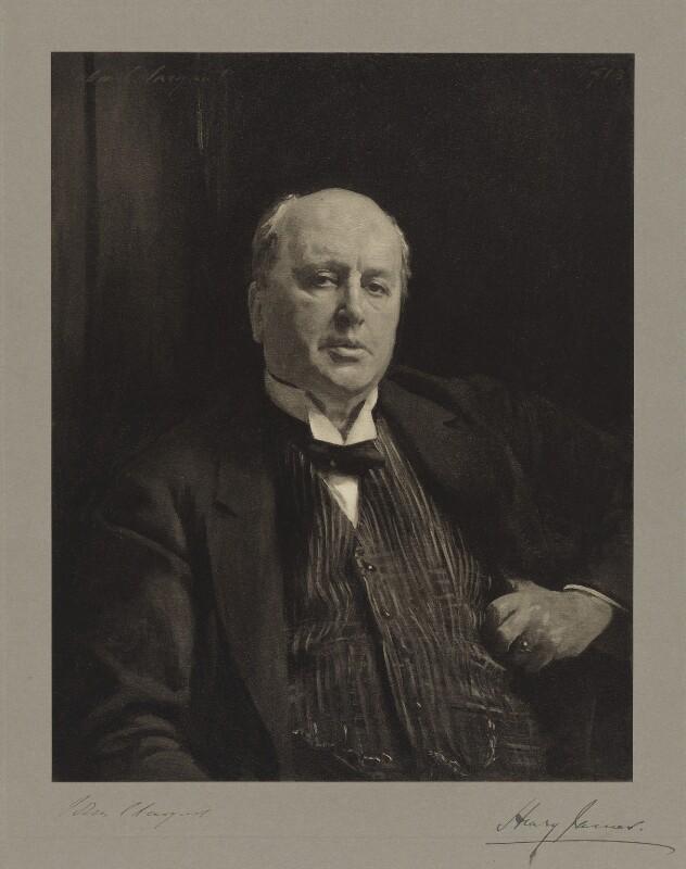 Henry James, after John Singer Sargent, before 1929 (1913) - NPG D36465 - © National Portrait Gallery, London