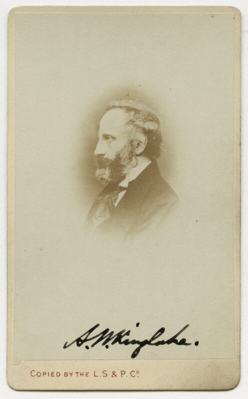 Alexander William Kinglake, copied by London Stereoscopic & Photographic Company, by  John Webber, 1863 - NPG x132854 - © National Portrait Gallery, London