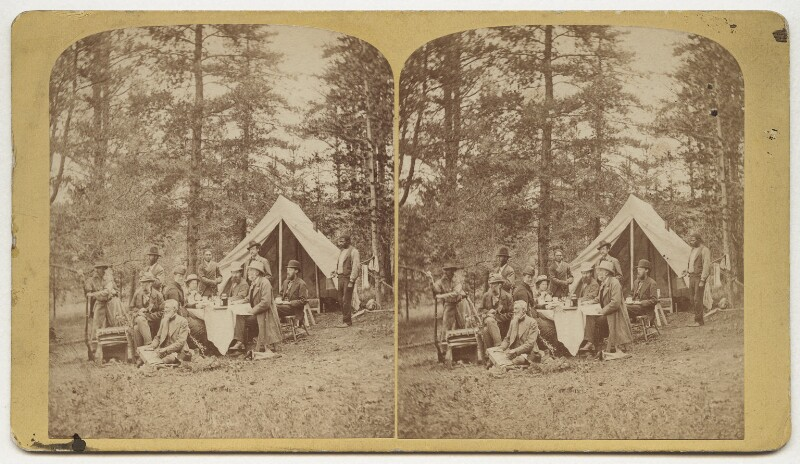 'Scenes on the line of the Denver and Rio Grande Railway', by and published by Byron H. Gurnsey, late 1870s - NPG x132855 - © National Portrait Gallery, London
