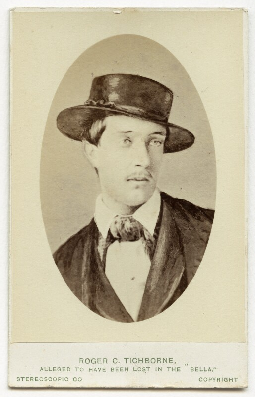 Roger Charles Doughty-Tichborne, by London Stereoscopic & Photographic Company, after  Thomas Helsby, circa 1873 (1854) - NPG Ax28421 - © National Portrait Gallery, London