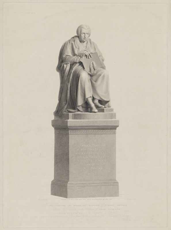Cyril Jackson, by Alfred Robert Freebairn, published by  James Wyatt, after  Henry Corbould, after  Sir Francis Leggatt Chantrey, published 14 June 1831 - NPG D36473 - © National Portrait Gallery, London