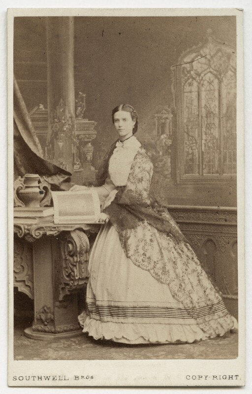 Maria Feodorovna, Empress of Russia (Princess Dagmar), by Southwell Brothers, 1863 - NPG x131661 - © National Portrait Gallery, London