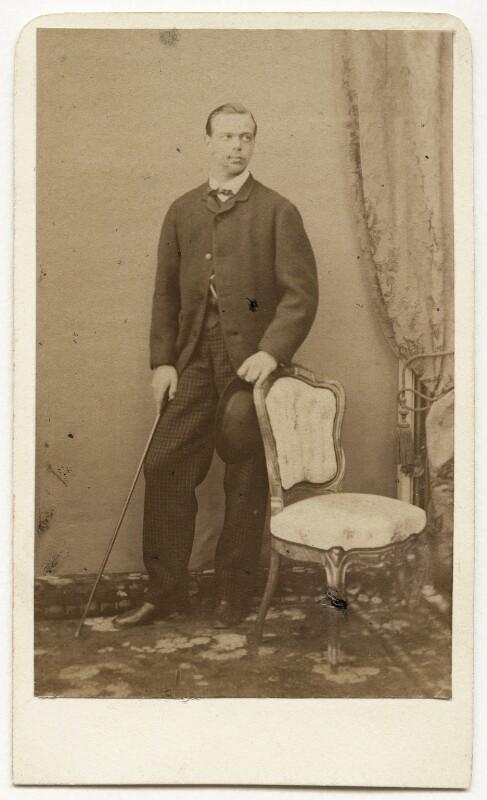 Alexander III, Emperor of Russia, by Franz Backofen, early-mid 1860s - NPG x131665 - © National Portrait Gallery, London