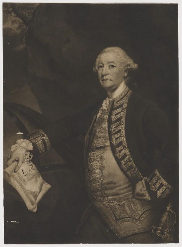 Sir William James, 1st Bt, after Sir Joshua Reynolds, published 1783 (1780-1782) - NPG D36482 - © National Portrait Gallery, London