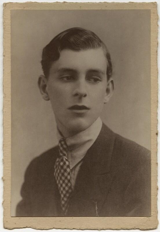 Stephen Tennant, by Foulsham & Banfield, 1920-1925 - NPG x132862 - © National Portrait Gallery, London