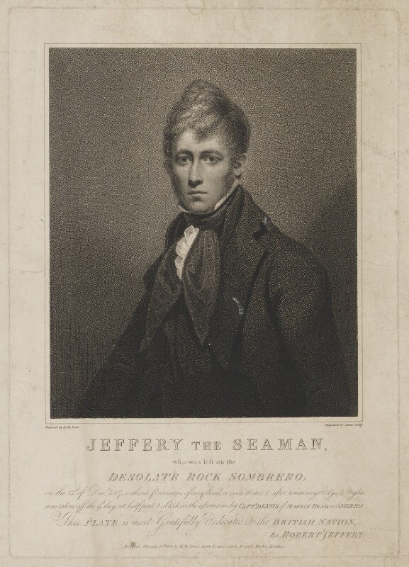 Robert Jeffery, by James Godby, published by and after  E.M. Jones, published 14 February 1811 - NPG D36495 - © National Portrait Gallery, London