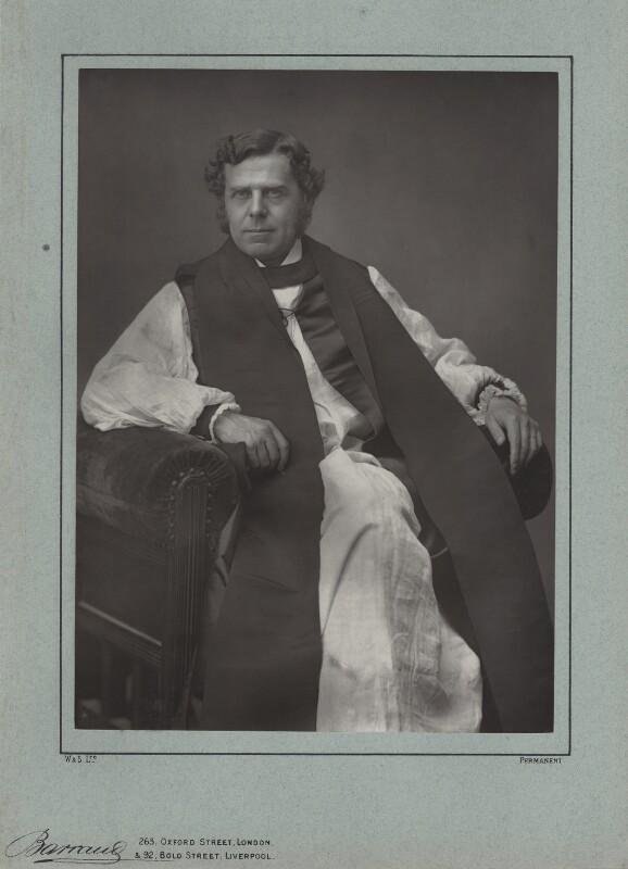 William Boyd Carpenter, by Herbert Rose Barraud, published by  Eglington & Co, published 1889 - NPG x5700 - © National Portrait Gallery, London