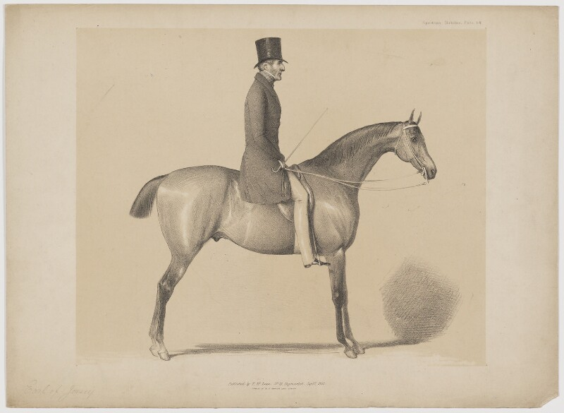 George Child-Villiers, 5th Earl of Jersey, published by Thomas McLean, published September 1842 - NPG D36511 - © National Portrait Gallery, London