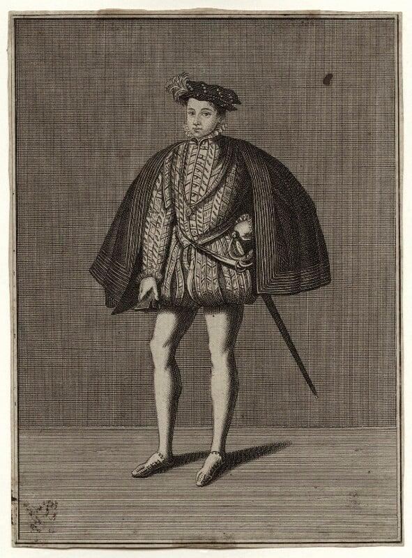 François II (Francis II), King of France, by Unknown artist, 18th century - NPG D36703 - © National Portrait Gallery, London