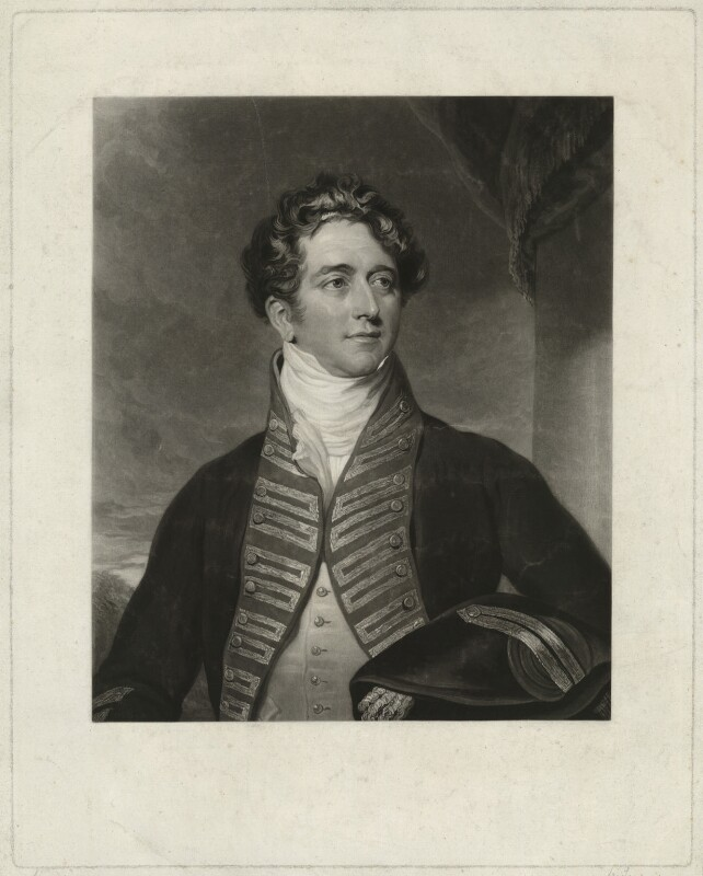 Sir Ralph James Woodford, 2nd Bt, by Charles Turner, after  Sir Thomas Lawrence, published 1829 - NPG D36285 - © National Portrait Gallery, London