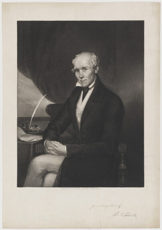 Alexander L. Johnston, by Daniel John Pound, after  George Chinnery, mid 19th century - NPG D36546 - © National Portrait Gallery, London