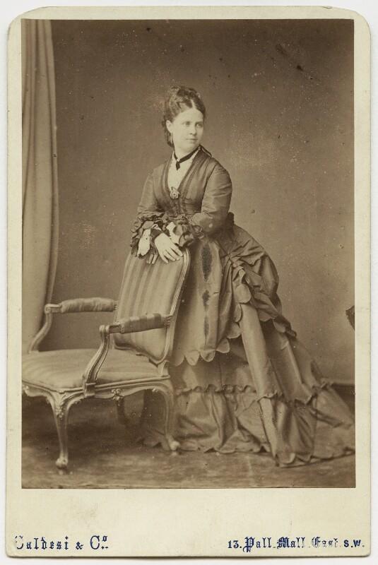Marie Alexandrovna, Duchess of Edinburgh, by Caldesi & Co, 1872 - NPG x6860 - © National Portrait Gallery, London