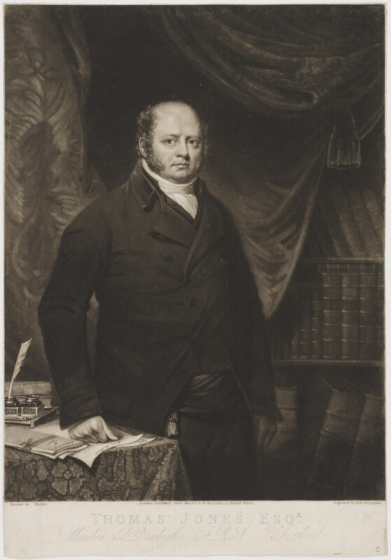 Thomas Tyrwhitt Jones, by and published by Samuel William Reynolds, after  Robert Muller, published 1 January 1801 - NPG D36731 - © National Portrait Gallery, London