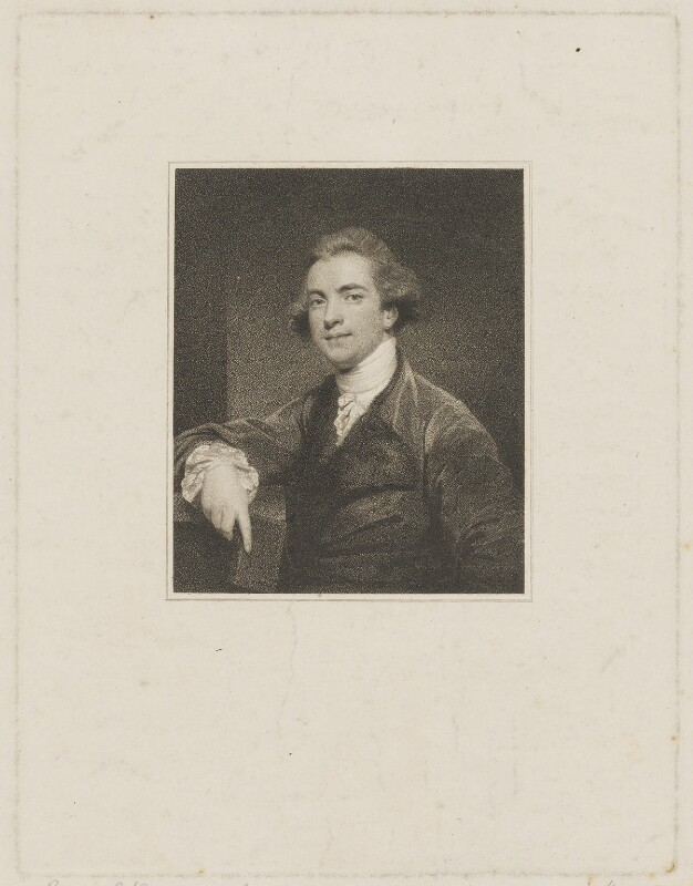 Sir William Jones, by James Heath, after  Sir Joshua Reynolds, published 1799 (1767-1769) - NPG D36735 - © National Portrait Gallery, London