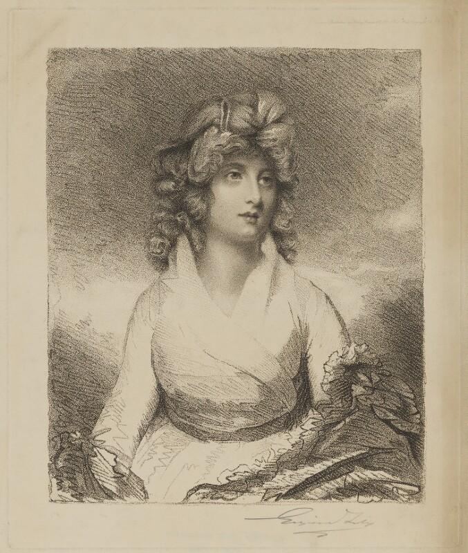 Charlotte Duncombe (née Legge), Lady Feversham, after John Hoppner, (1794) - NPG D36700 - © National Portrait Gallery, London