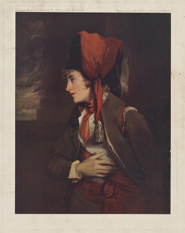 Dorothy Jordan as Rosalind, published by George Pulman & Sons, after  John Hoppner, early 20th century - NPG D36741 - © National Portrait Gallery, London