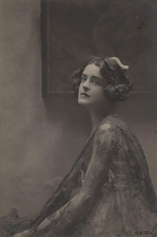 Harriet Cohen, by E.O. Hoppé, 24 July 1920 - NPG x39267 - © 2018 E.O. Hoppé Estate Collection / Curatorial Assistance Inc.