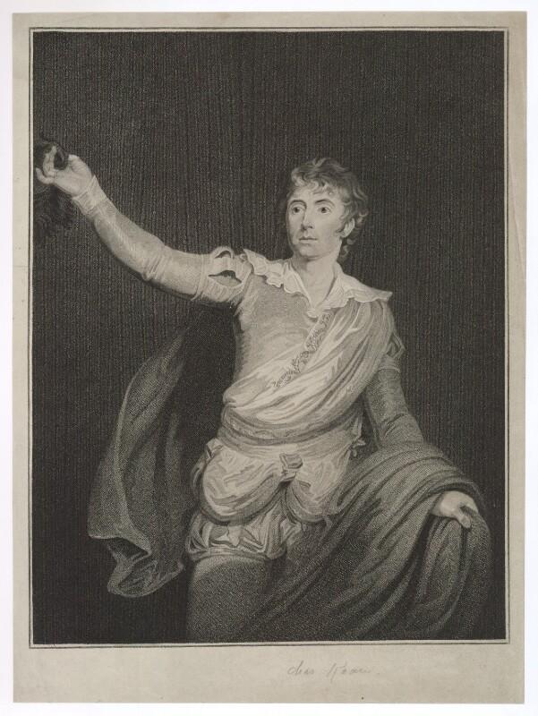 Charles John Kean, by Unknown artist, mid 19th century - NPG D36754 - © National Portrait Gallery, London