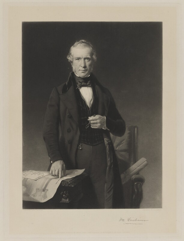 Sir William Fairbairn, 1st Bt, by Thomas Oldham Barlow, published by  Thomas Agnew & Sons Ltd, after  Philip Westcott, published 1 January 1852 - NPG D36920 - © National Portrait Gallery, London