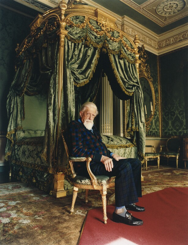George Lascelles, 7th Earl of Harewood, by Jonathan Root, 2003 - NPG x133120 - © Condé Nast