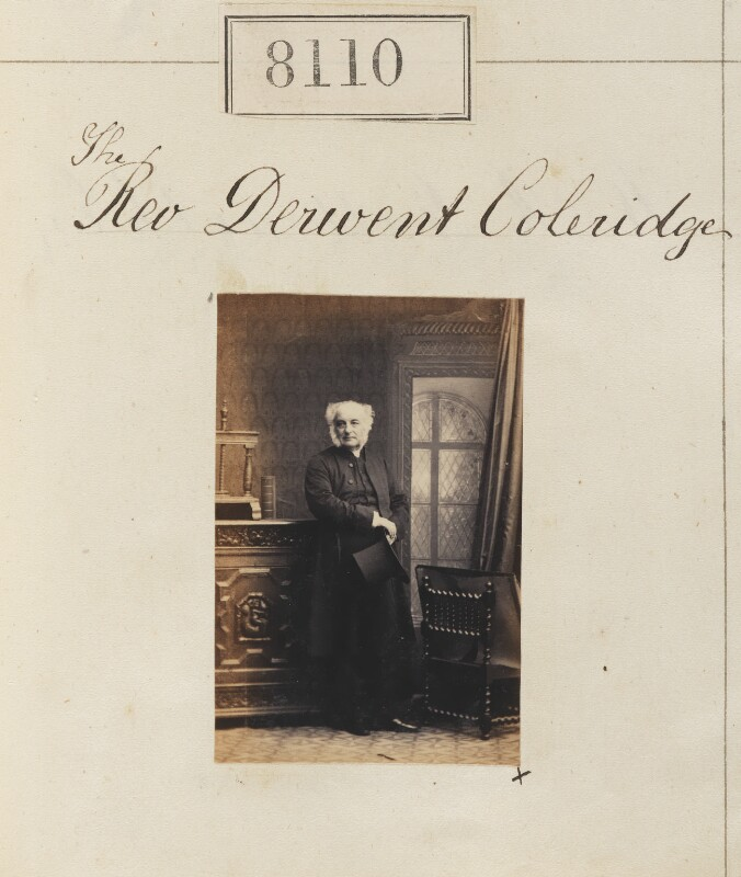 Derwent Coleridge, by Camille Silvy, 15 May 1862 - NPG Ax57936 - © National Portrait Gallery, London