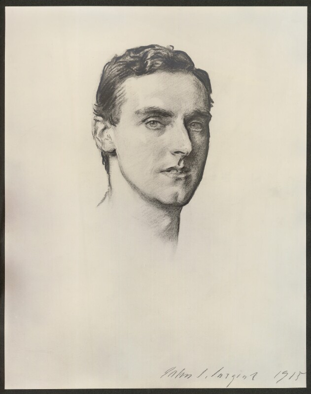 Frederick Septimus Kelly, after John Singer Sargent, 1915-1930 (1915) - NPG D36773 - © National Portrait Gallery, London