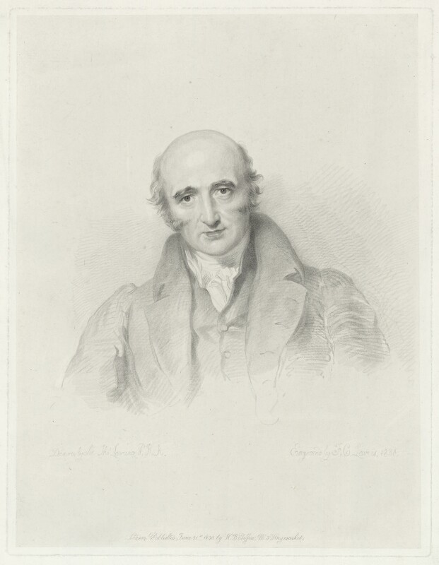 William Hyde Wollaston, by Frederick Christian Lewis Sr, published by  Walter Benjamin Tiffin, after  Sir Thomas Lawrence, published 21 June 1830 - NPG D36338 - © National Portrait Gallery, London