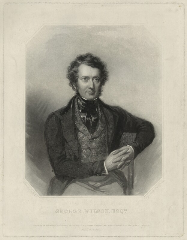 George Wilson, by Samuel William Reynolds Jr, printed by  Brooker & Harrison, published by  Thomas Agnew, published by  John Gadsby, published by  Ackermann & Co, after  Charles Allen Duval, published 16 December 1843 - NPG D37020 - © National Portrait Gallery, London