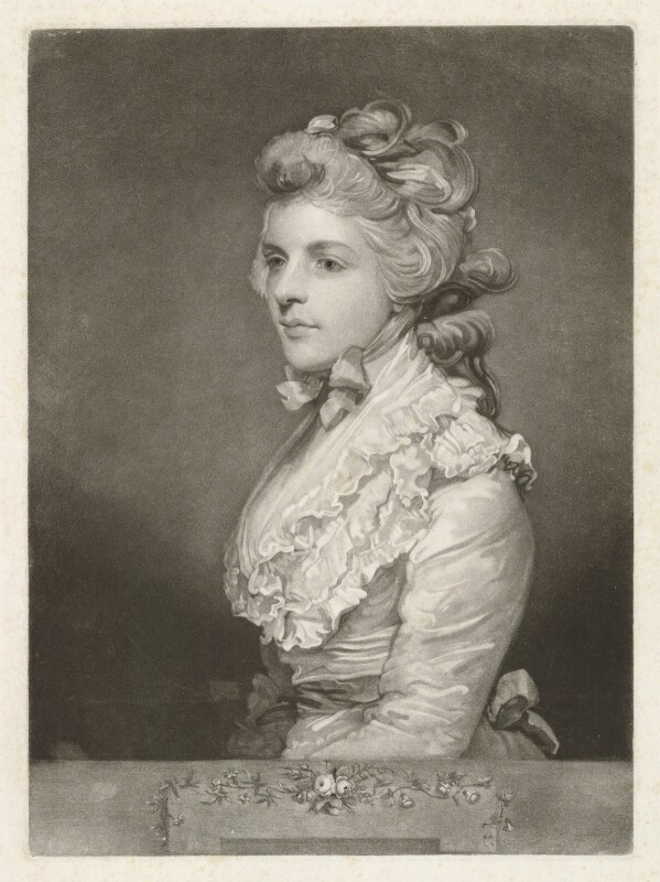 Fanny Kemble, by John Jones, after  Sir Joshua Reynolds, published 1784 (1783) - NPG D36819 - © National Portrait Gallery, London