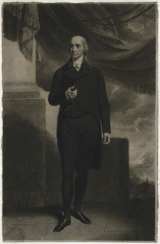 Hon. William Windham, by Samuel William Reynolds, after  John Hoppner, published 1804 - NPG D37056 - © National Portrait Gallery, London