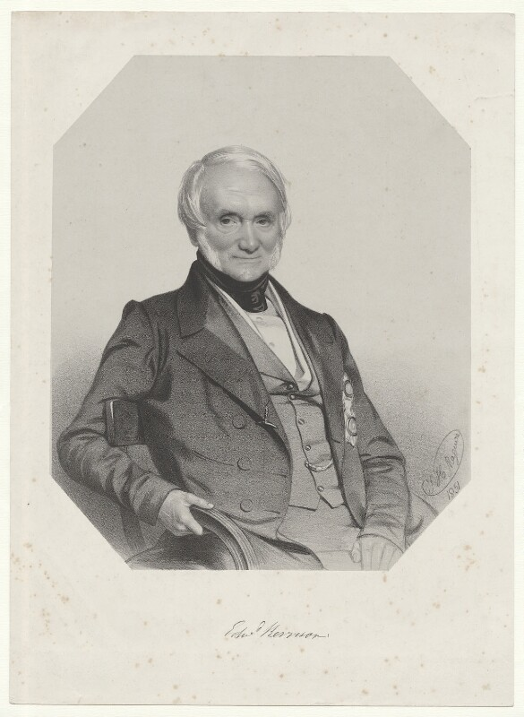 Sir Edward Kerrison, 1st Bt, by Thomas Herbert Maguire, 1851 - NPG D36853 - © National Portrait Gallery, London