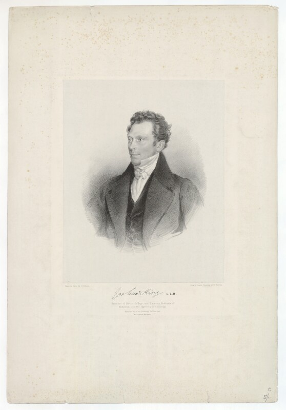 Joshua King, by James Dickson, printed by  M & N Hanhart, published by  Robert Roe, after  E. Warren, published 28 June 1842 - NPG D36872 - © National Portrait Gallery, London