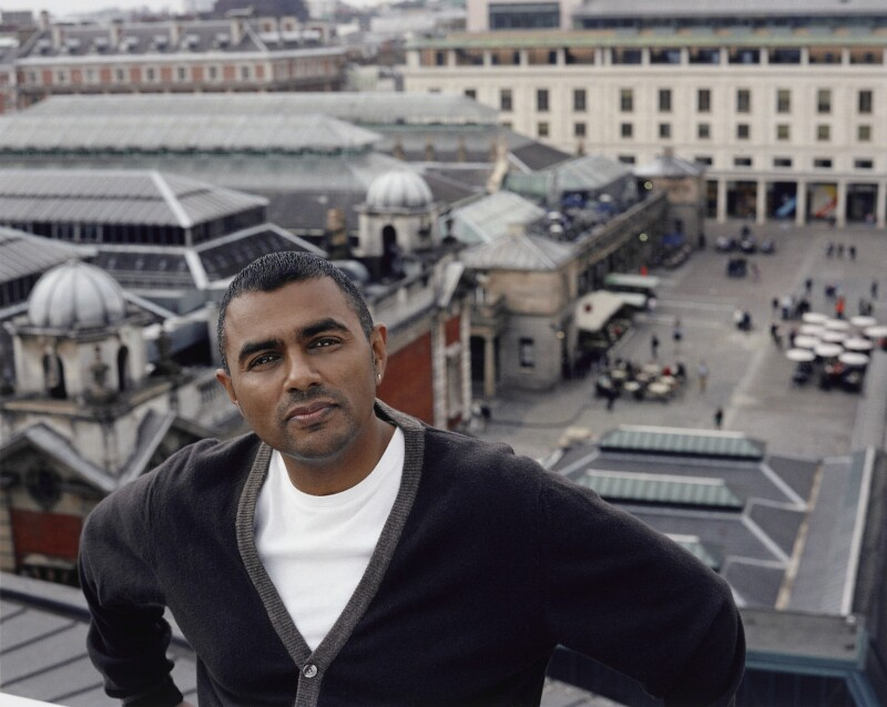 Waheed Alli, Baron Alli, by Mary McCartney, 2008 - NPG P1354 - © Mary McCartney / National Portrait Gallery, London