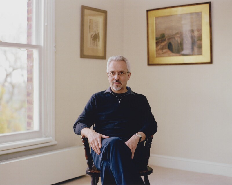 Alan Hollinghurst, by Mary McCartney, 2008 - NPG P1355 - © Mary McCartney / National Portrait Gallery, London