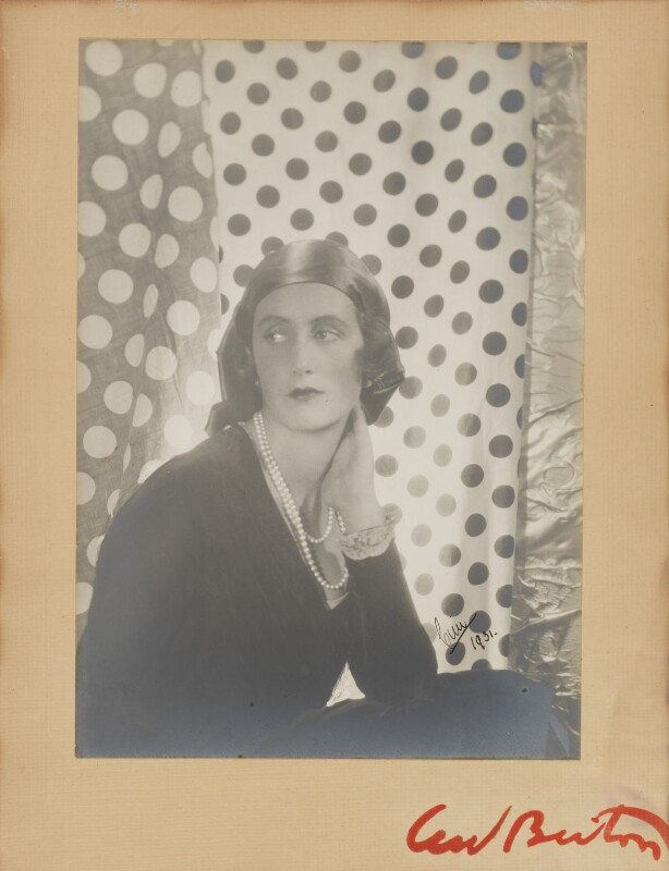 Lady Cynthia Blanche Mosley (née Curzon), by Cecil Beaton, 1929 - NPG P1353 - © Cecil Beaton Studio Archive, Sotheby's London