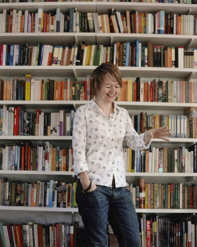 Sarah Waters, by Mary McCartney, 2008 - NPG P1362 - © Mary McCartney / National Portrait Gallery, London