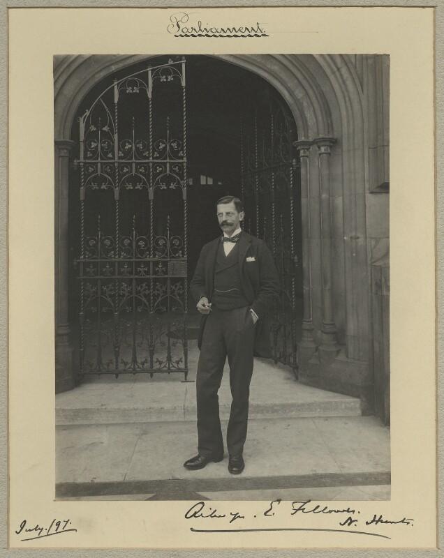 Ailwyn Edward Fellowes, 1st Baron Ailwyn, by Sir (John) Benjamin Stone, July 1897 - NPG x15811 - © National Portrait Gallery, London