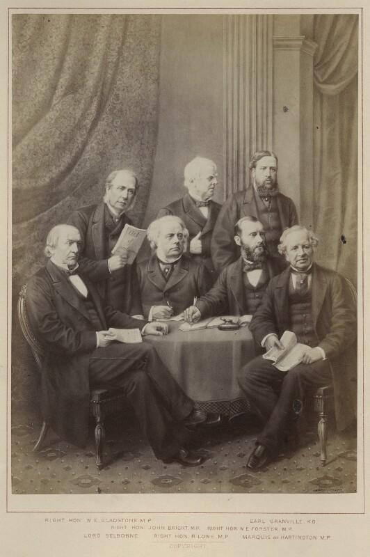 'Politicians - Liberals', published by Hughes & Edmonds, published 1876 - NPG Ax132898 - © National Portrait Gallery, London