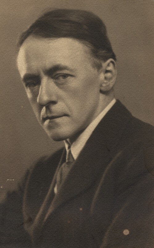 Sir Arnold Bax, by Elliott & Fry, 1926 - NPG x39297 - © National Portrait Gallery, London