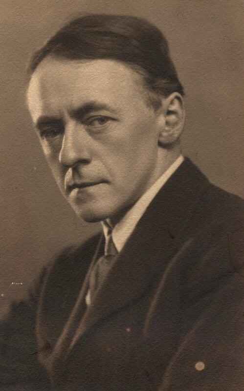 Sir Arnold Bax, by Elliott & Fry, 1926 - NPG x39297 - © National Portrait Gallery, London