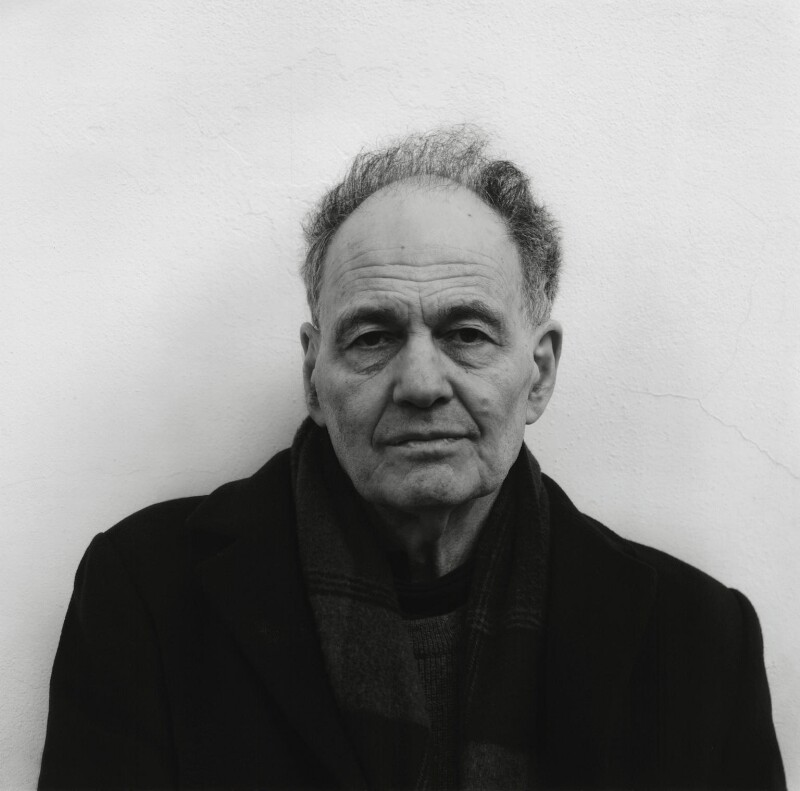 Frank Auerbach, by Stuart Walker, 29 November 2007 - NPG x133139 - © Stuart Walker (cbms)