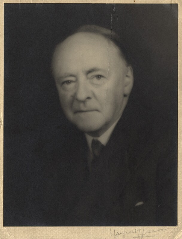 Sir Arnold Bax, by Margaret Ellsmoor, 1940s - NPG x39298 - © National Portrait Gallery, London