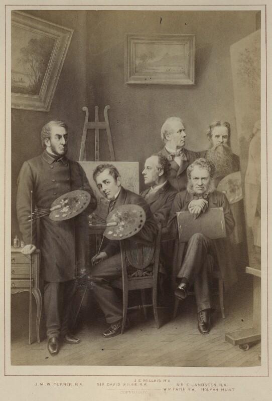 'Artists', published by Hughes & Edmonds, published 1876 - NPG Ax132902 - © National Portrait Gallery, London