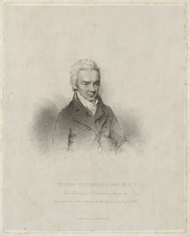 William Wilberforce, by Edward Scriven, published by and after  Joseph Slater, published 10 April 1816 - NPG D37513 - © National Portrait Gallery, London